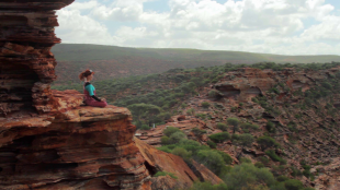 Video Screen Capture - On the Road in Western Australia