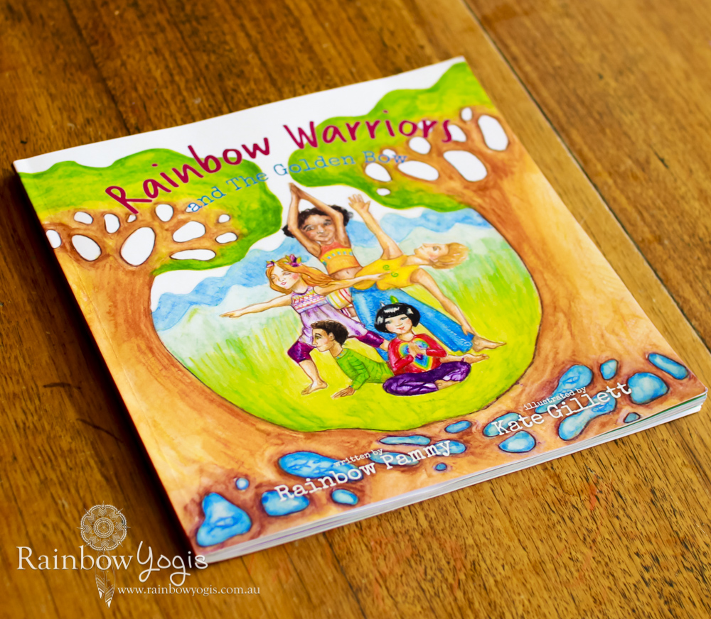 Book Cover - Rainbow Warriors and the Golden Bow - Paperback